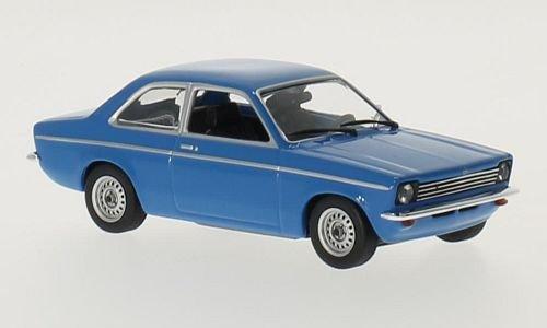 Opel Kadett C, blau, 1974, Modellauto, Fertigmodell, Maxichamps 1:43