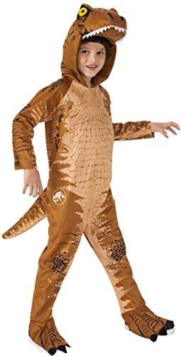 Rubies Child's T-Rex Dinosaur Oversized Costume Jumpsuit, Medium