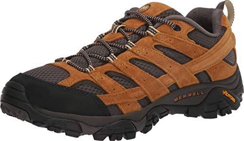Merrell Moab 2 Zapatillas de senderismo con ventilación para hombre, Dorado (Dorado), 41 EU