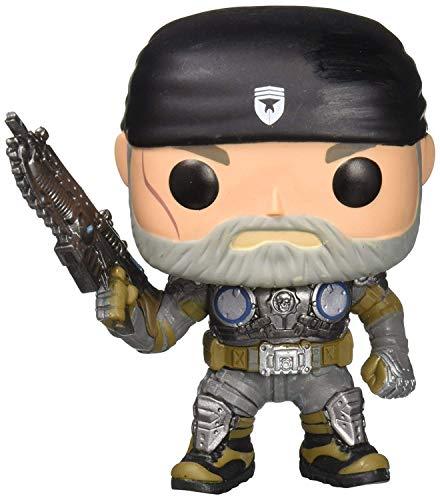 Funko Pop! - Marcus Fenix (Old Man) Figura de Vinilo, seria Gears of War