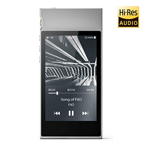 FiiO M7 High Resolution Lossless Music Player with aptX, aptX HD, LDAC HiFi Bluetooth, FM Radio and Full Touch Screen...