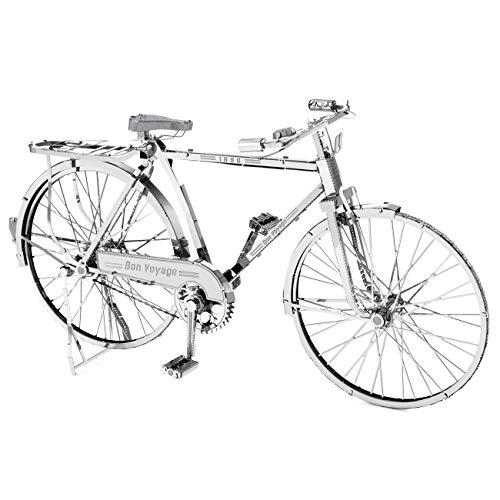 Fascinations Metal Earth ICONX Classic Bicycle 3D Kit de modelo de metal