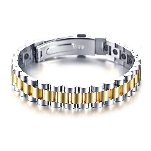 WXYBF Herenarmband, armbanden voor vrouwen en mannen, hematiestenen  horlogebandstijl