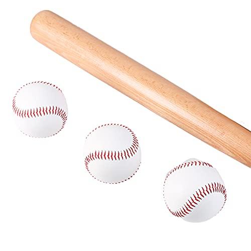 CMLLING Pelota de béisbol de espuma suave de seguridad para entrenamiento de béisbol en interiores y exteriores, jugadores de niños y jóvenes, para practicar golpeo y defensa segura (3 unidades)