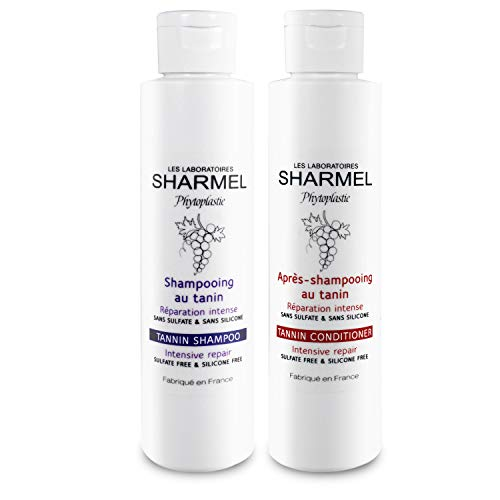 DUO SHAMPOING & APRES-SHAMPOING - 0% SULFATE - 0% SILICONE - 2 x 150ML - BOOSTER DE LISSAGE
