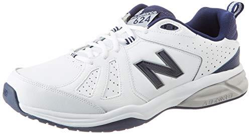 New Balance Herren 624v5 Crosstrainer, Weiß (White), 49 EU X Wide