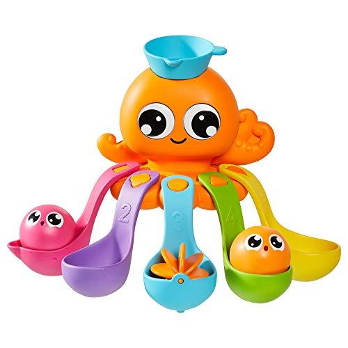 TOMY Toomies Tala`s Badewannen - Spass, Baby- und Kinder-Badespielzeug zum Wasserspiel, lustiges Badezubehör für Babys und Kleinkinder, Geeignet für 18 Monate, 2, 3 & 4-Jährige