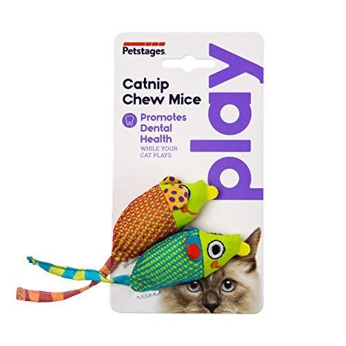 PetStages Catnip Chew Mice Cat Toy
