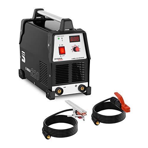 Stamos Power² S-MMA 220 Elektroden-Schweißgerät 220 A 230 V MMA Schweißer Elektrodenschweißgerät Elektroden Schweißgerät