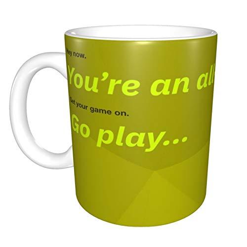 Shrek - Taza de café divertida, diseño de lesbianas, comen lo que la novedad, regalo divertido para hombres y mujeres, marido, esposa o trabajador