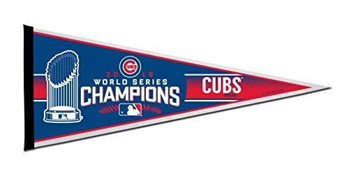 "Rico MLB Chicago Cubs World Series Champ Pennant, 30"", Blue"