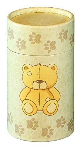 Cherished Urns Teddy Design Design Umweltfreundlich Streuung Tube–Kleine