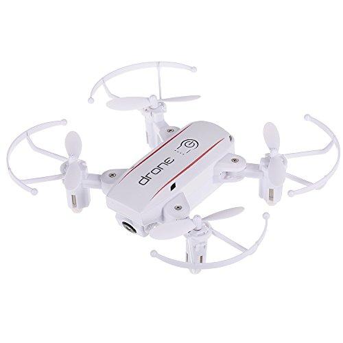 Goolsky Linxtech IN1601 2.4G 480P WiFi FPV Altitud Plegable RC Drone w / 3 baterías