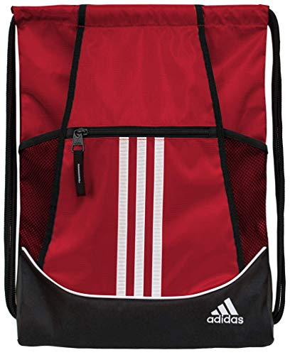 adidas Unisex Alliance II Sackpack, Team Power Red, ONE SIZE