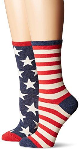 Socksmith Damen Socken Gr. Einheitsgröße, blau vintage