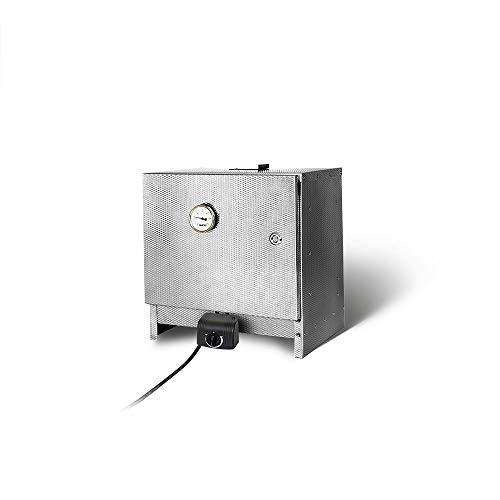 SMOKI Tisch-Elektro-Räucherofen 40x39x33cm (1.4016 Cr-Edelstahl)