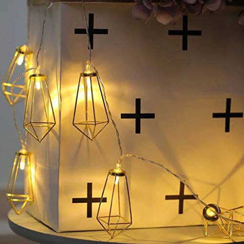 SioHopio Cadena De Luces De Navidad 20 X 3 LED Twinkle Star...