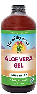Lily of the Desert Aloe Vera Gel, Inner Fillet, 16 Ounces