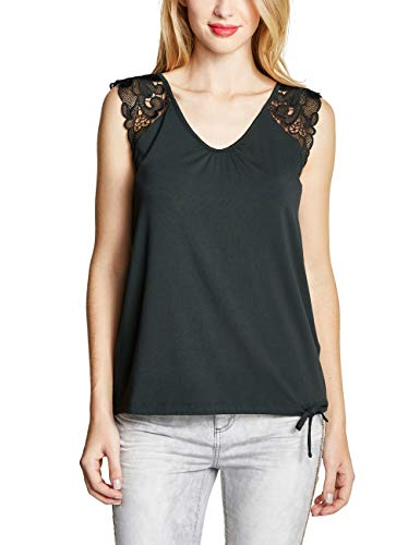 Street One Damen 313412 Top, Grün (Grün (Chilled Green), 40