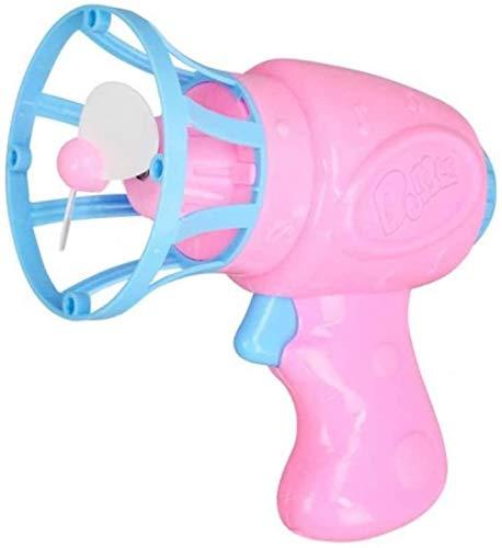 N /A Burbujas de jabón Pistola de Juguete para niños Regalos Jabón Pistola de Agua de la Burbuja para el Arma del Ventilador al Aire Libre de Juegos Infantil,Blanco