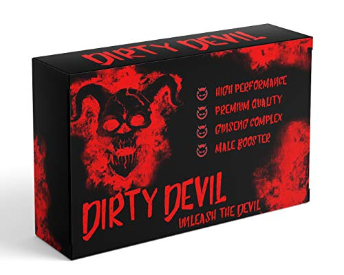 Dirty Devil Male Supplement - 10 Capsule Pack - Max Strength...