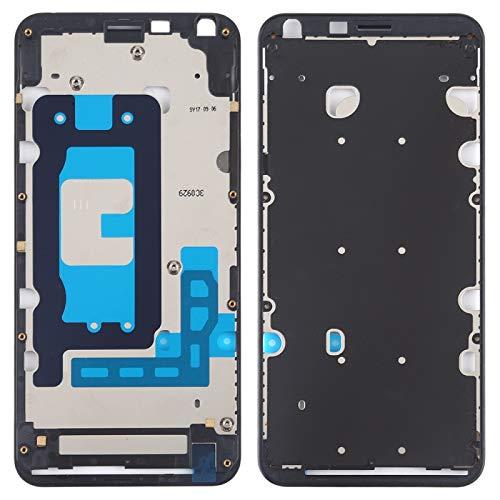Wangl LG Spare Front Housing LCD Frame Bezel Plate for LG Q6 / Q6+ / LG-M700 / M700 / M700A / US700 / M700H / M703 / M700Y LG Spare (Color : Black)