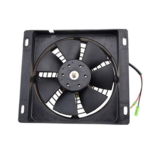GOOFIT Ventilador Radiador 12V Moto DC Refrigerante