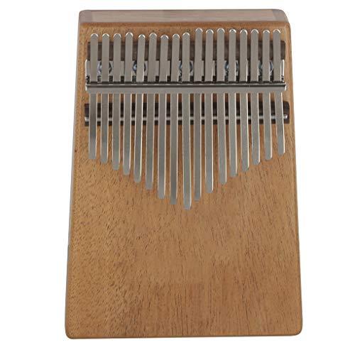 Floridivy 17 toetsen Mahogany Kalimba Acacia Electroacoustic de hand Thumb Piano met EQ Planken Bag Tune Hammer