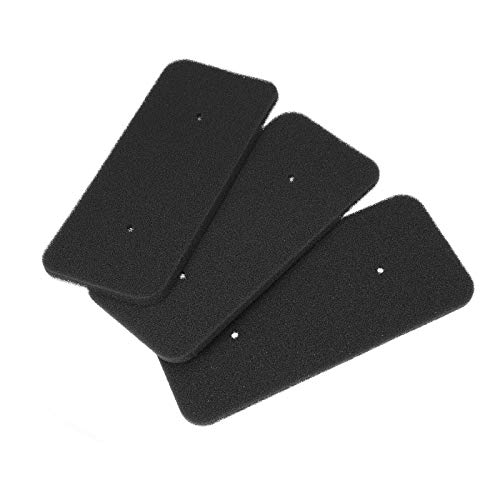 3x DL-pro Filter passend für Candy 40006731 Trockner Schaumfilter 270x125mm Sockelfilter an Wärmetauscher Wärmepumpentrockner Kondenstrockner
