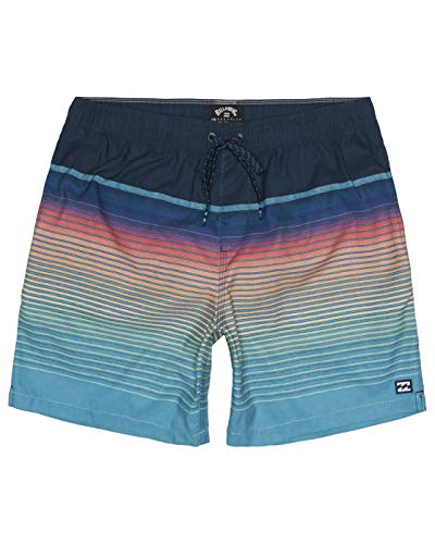 BILLABONG All Day Stripe Lb, Recreational Shorts Uomo, Blue, S