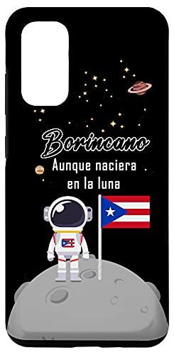 Galaxy S20 Yo Seria Borincano Aunque Naciera En La Luna Cover Boricua Case