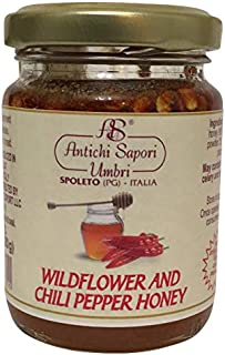 Wildflower and Chili Pepper Honey 120gr - 4.23oz | Directly imported from selected artisanal farms in Italy