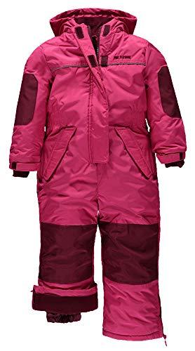 Pink Platinum Girls' Little Snowmobile Snowsuit, 4 Pink