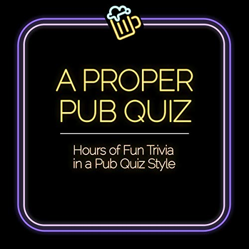 A Proper Pub Quiz cover art