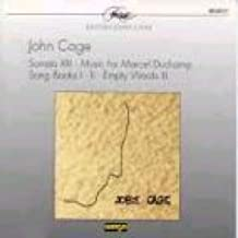 SONATA 13/ MUSIC FOR MARCEL/ DUCHAMP/ SONG BOOKS 1-2/ EMPTY WORDS 3 by JOHN CAGE [Korean Imported] (2001)
