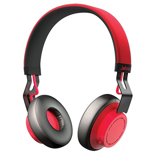 Jabra Move Wireless Stereo Headphones - Red