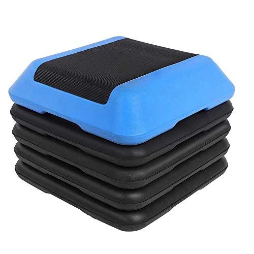 DQDF Fitness Aeróbico Paso Plataforma para Ejercicio, Materiales de Calidad Superficie Antideslizante, Shock Absorb Fitness, Para el Hogar y la Oficina Fitness