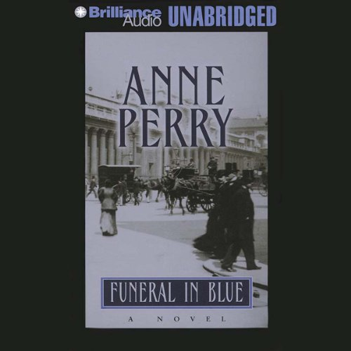 Funeral in Blue audiobook cover art