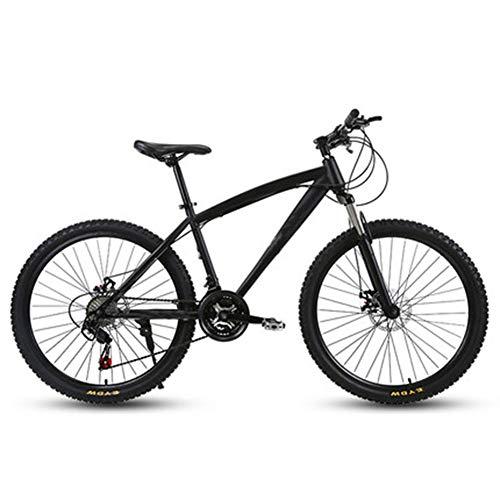 D&XQX 30-Gang Mountainbikes, 26-Zoll-Adult High-Carbon Stahlrahmen Hardtail Fahrrad, Männer All Terrain Mountainbike, Anti-Rutsch-Bikes,21 Speed