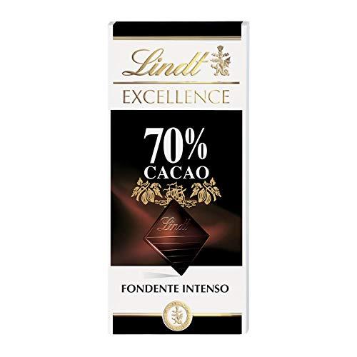 Lindt Excellence Tavoletta di Cioccolato 70% Cacao, 100g