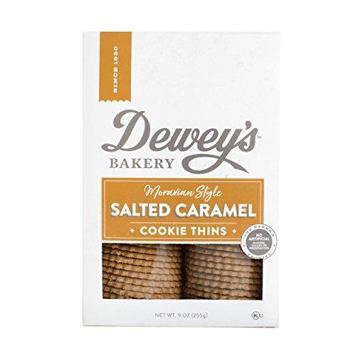 Dewey's Salted Caramel Moravian Cookies