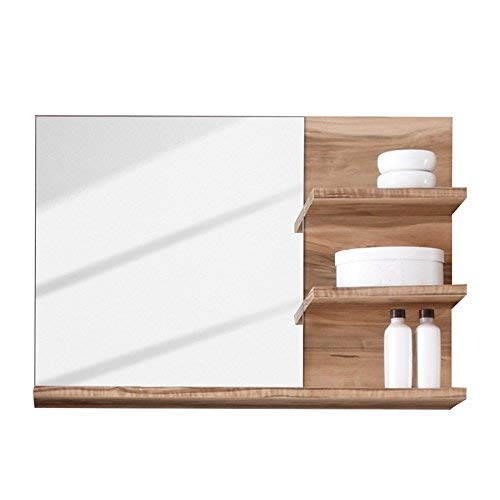 trendteam smart living Badezimmer 5-teilige Set Kombination Cancun Boom, 175 x 184 x 34 cm in Nussbaum Satin (Nb.) mit viel Stauraum Bild 3*