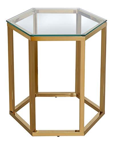 Port de Soller Furnture Ltd Bude Table d'appoint hexagonale