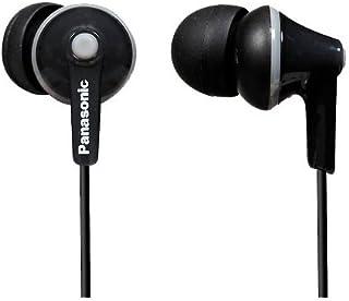 (Black) - Panasonic RP-HJE125E-K Ergo Fit In-Ear Headphone - Black