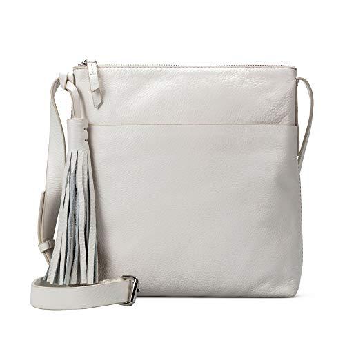 Clarks Topsham Shine - Bolso bandolera para mujer (1 x 1 cm), color Blanco, talla 1x1x1 cm (B x H x T)
