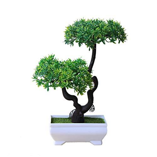 yanbirdfx Artificial Plant Tree Bonsai Fake Potted Ornament Home Hotel Garden Decor Gift 1#