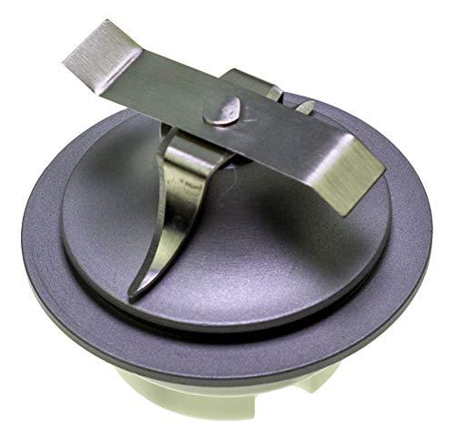 Kenwood–Bloque Cuchillo Metal para Máquinas de Espresso/Nespresso