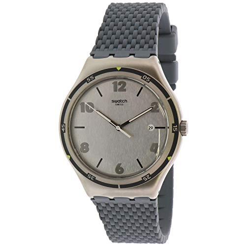 Swatch Herenhorloge analoog kwartshorloge met rubberen armband YWS447