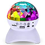 Disco Ball Home Party Sync Light Show Speaker, DJ Stage Lighting Wireless Bluetooth Projector