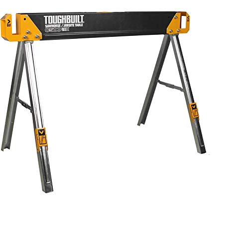 ToughBuilt - Sawhorse with 2x4 Support Arms 1100 LB Capacity - (TB-C500)